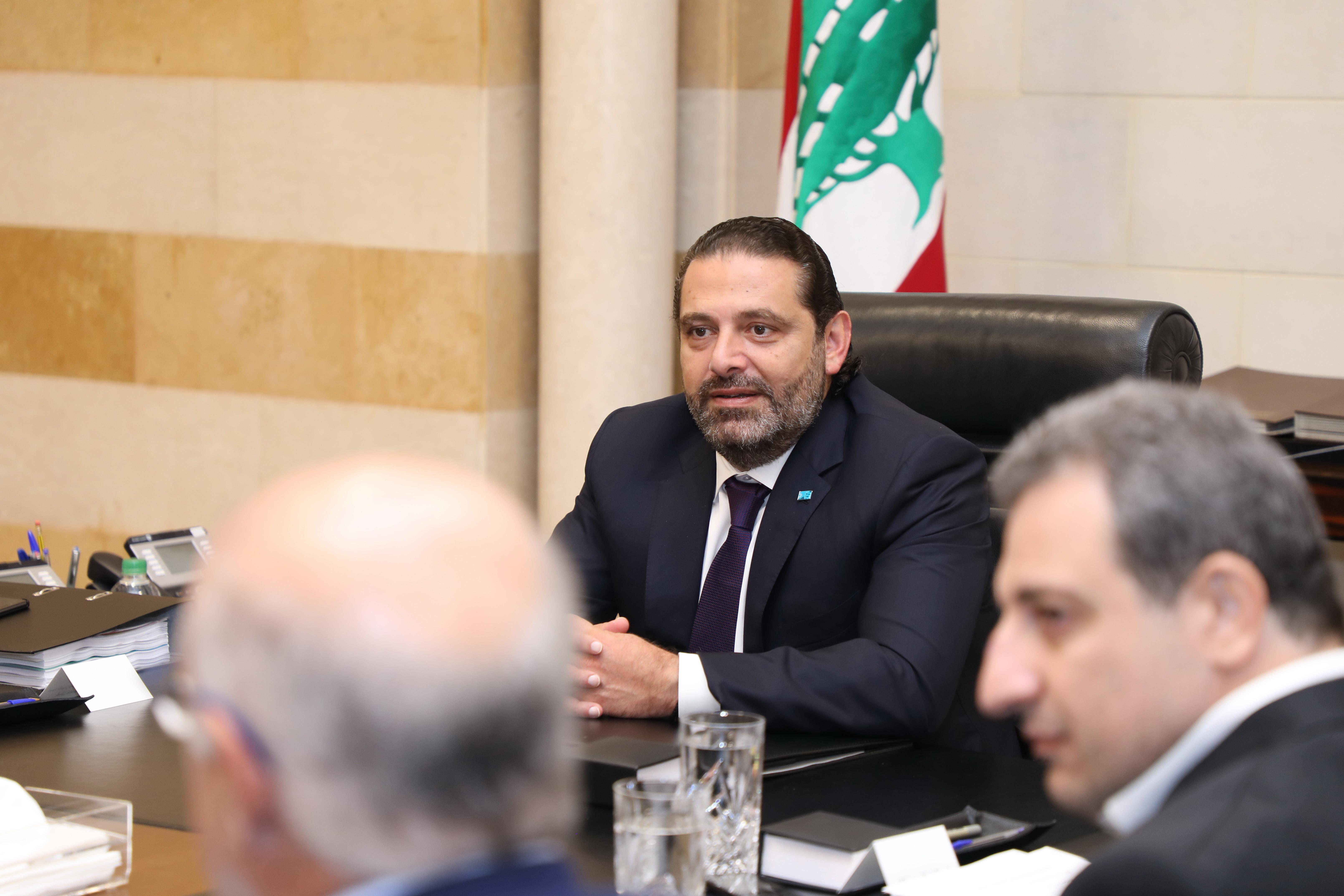 Pr Minister Saad Hariri Heading a Energy Committee 1