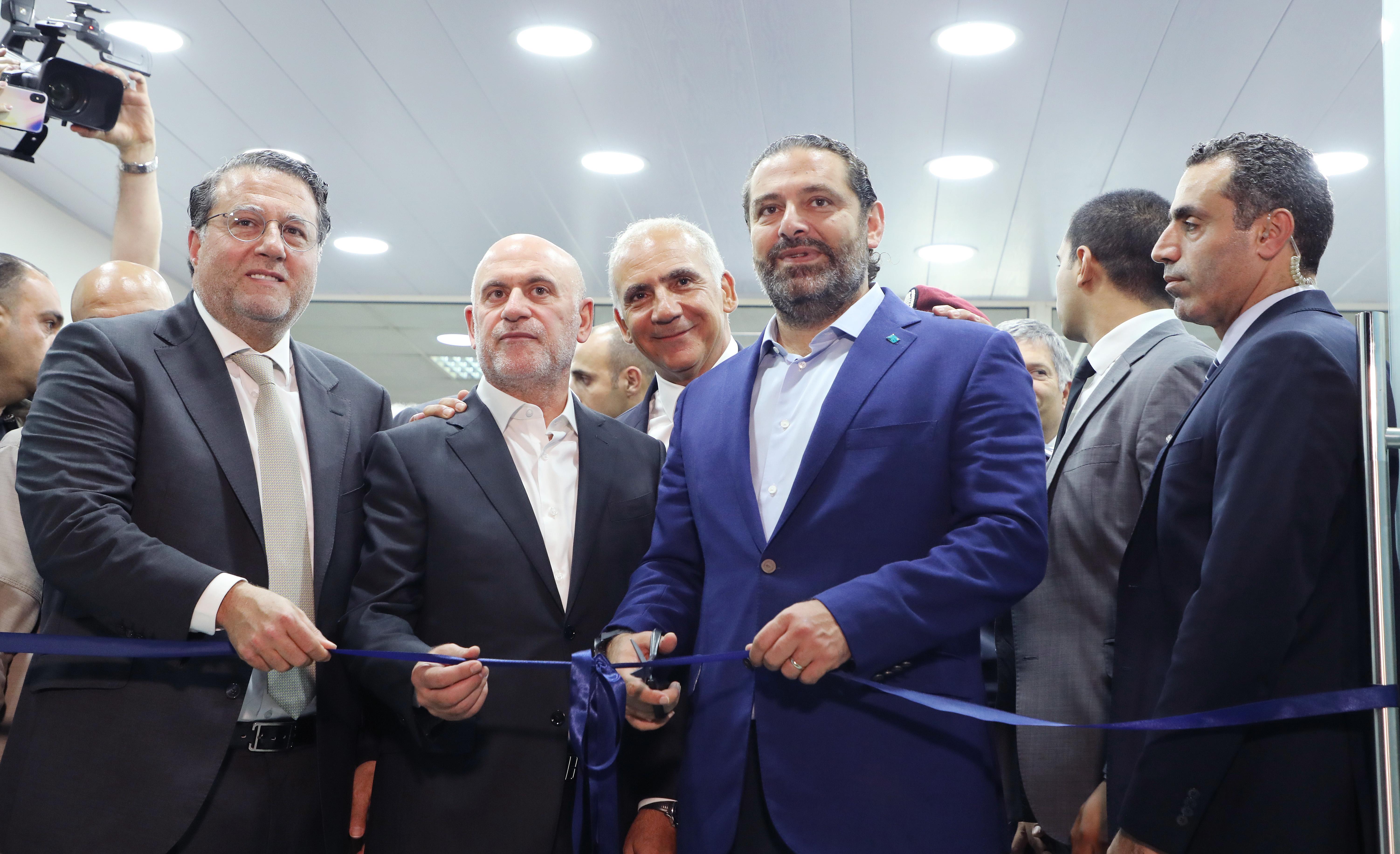 Pr Minister Saad Hariri Visits Beirut Ports 10