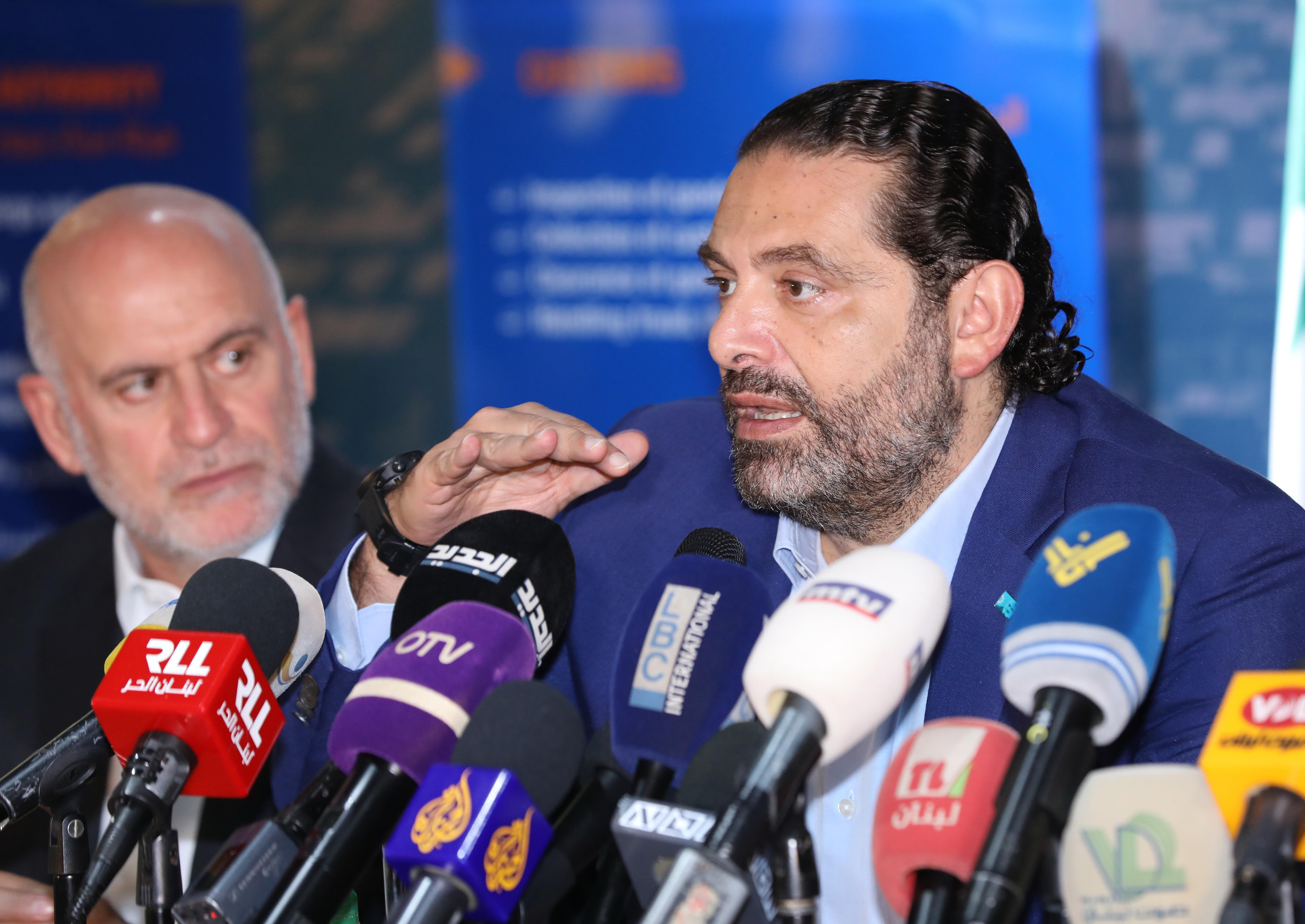 Pr Minister Saad Hariri Visits Beirut Ports 7