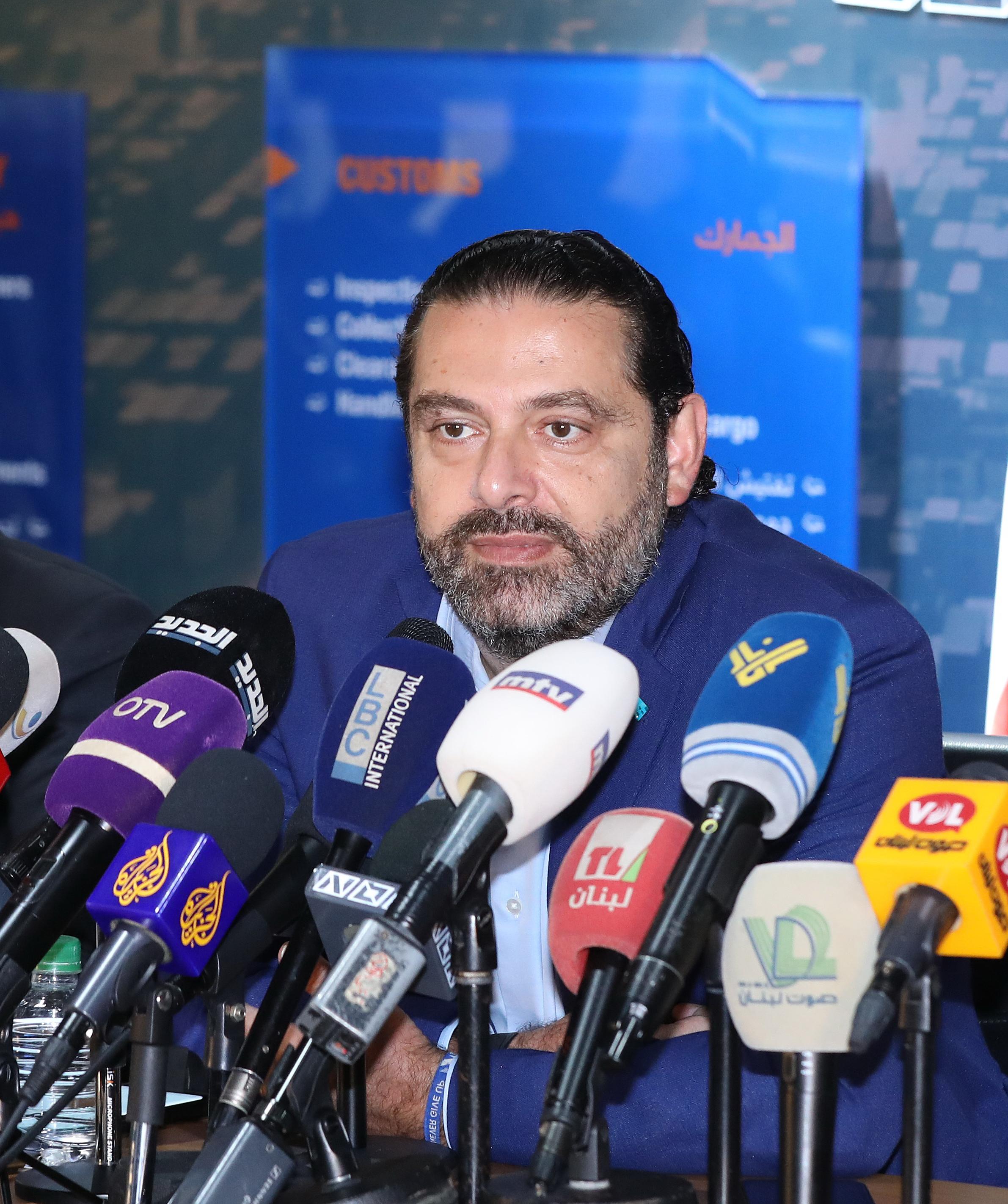 Pr Minister Saad Hariri Visits Beirut Ports 8