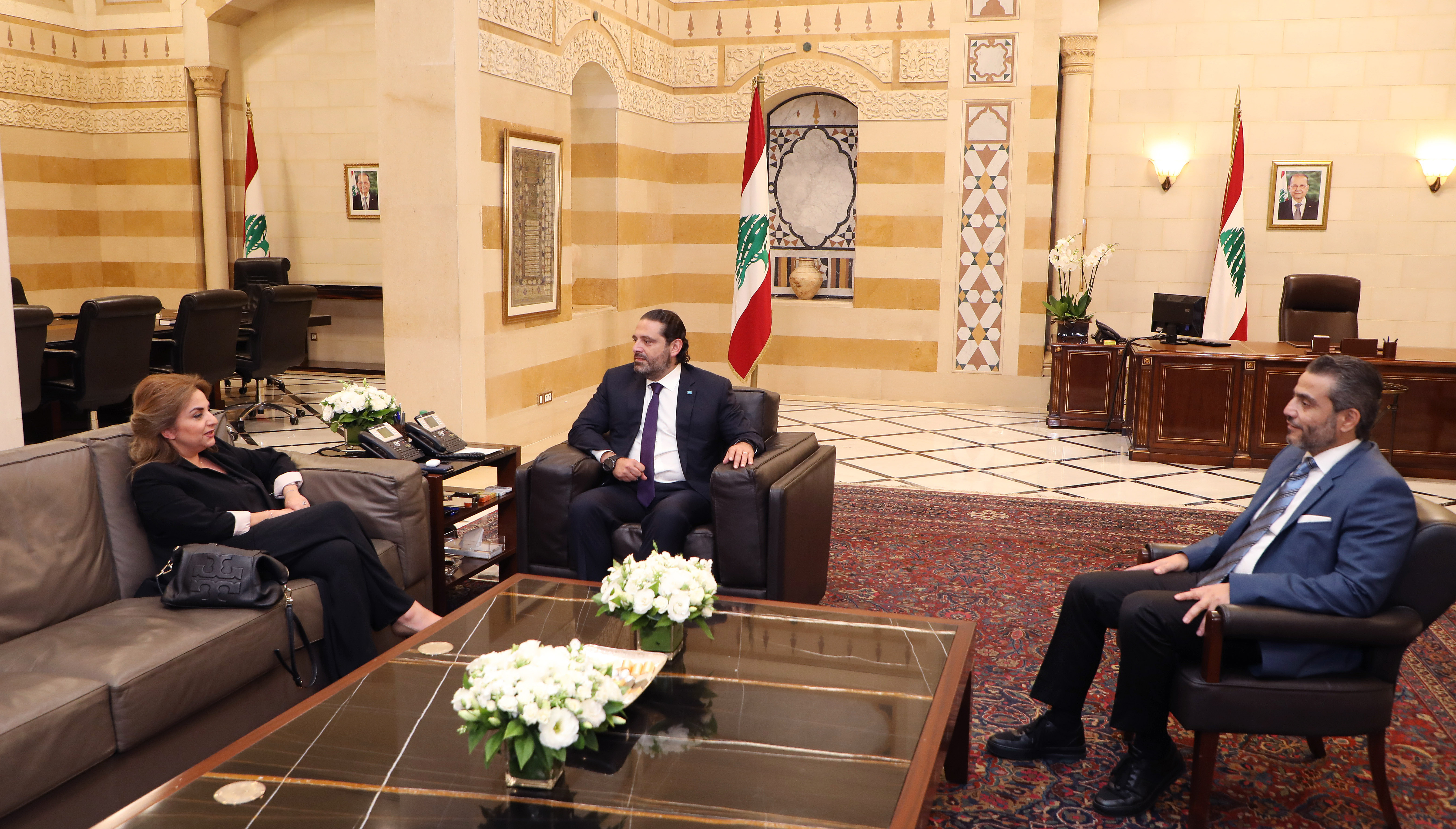 Pr Minister Saad Hariri meets 1