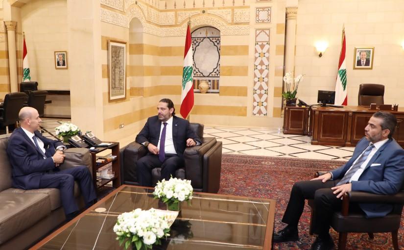 Pr Minister Saad Hariri meets Judge Mouhamad Badran