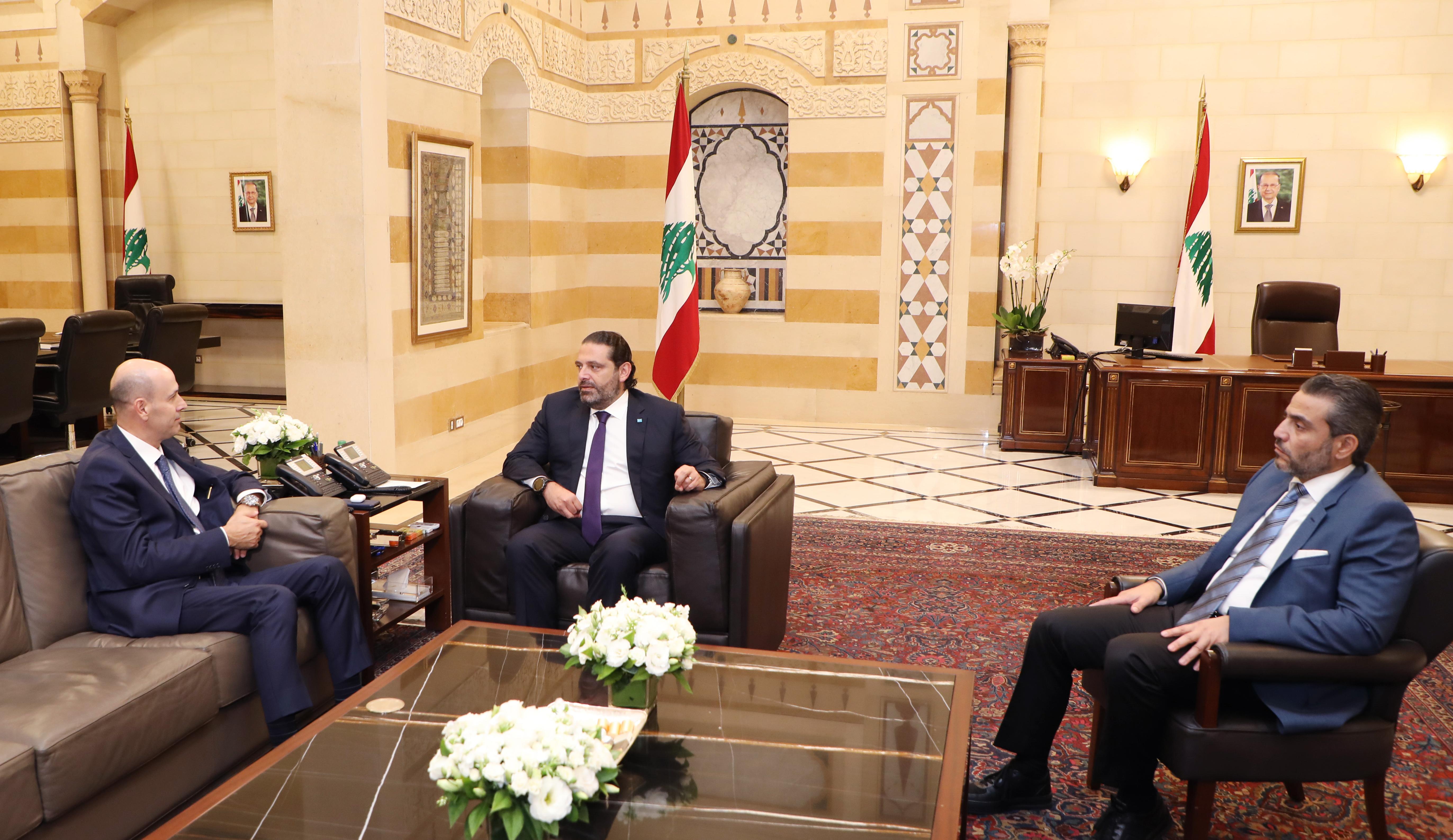 Pr Minister Saad Hariri meets