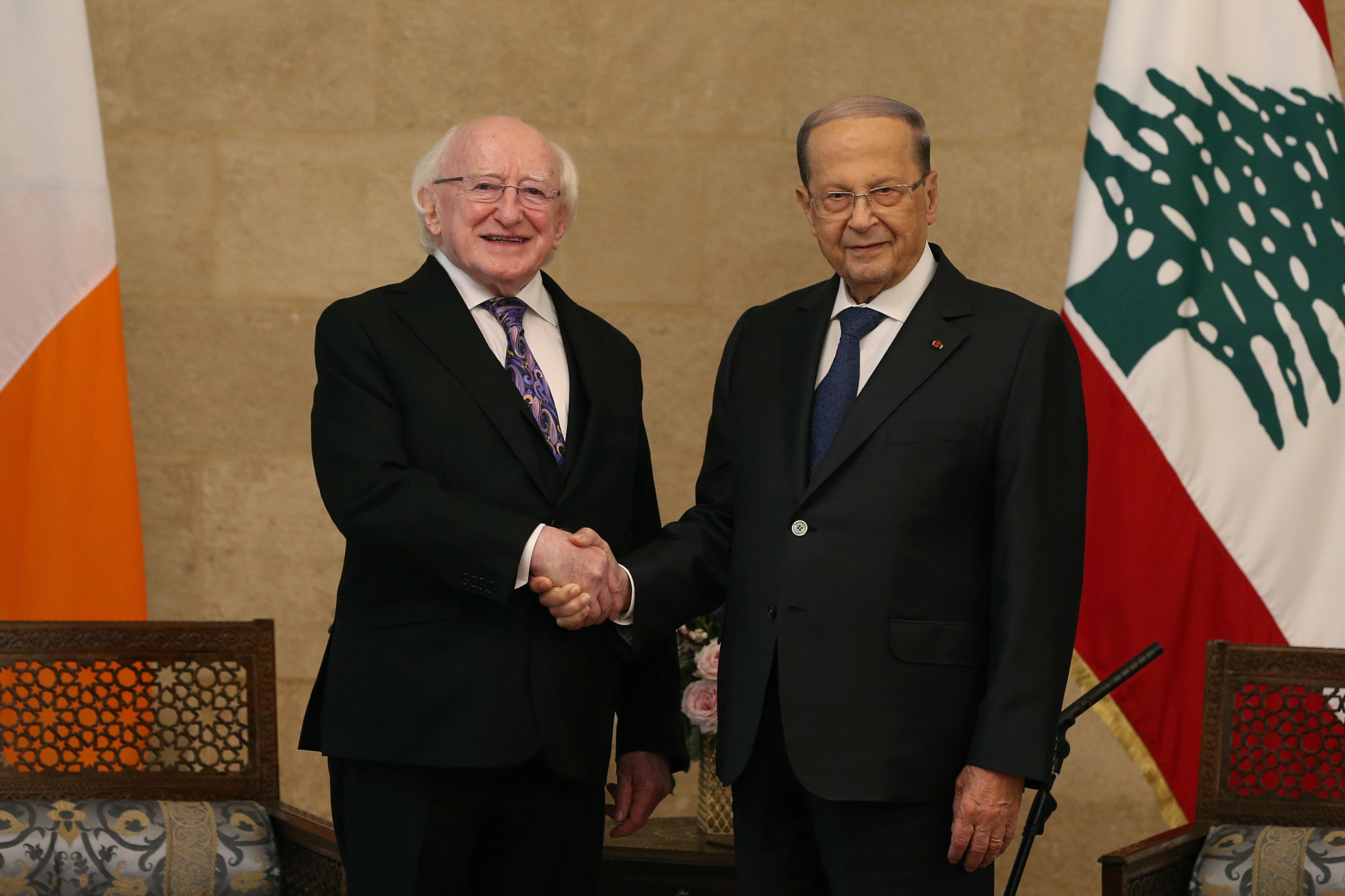 2 - President of Ireland Mr.Michael D. Higgins (2)