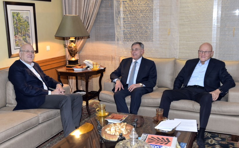 Meeting At Former Pr Minister Fouad Siniora
