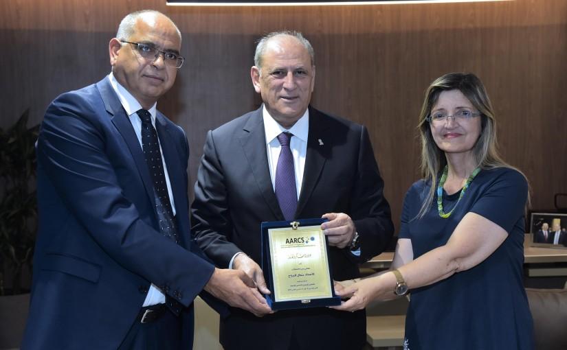 Minister Jamal Jarrah meets a Delegation from Lebanese Associations