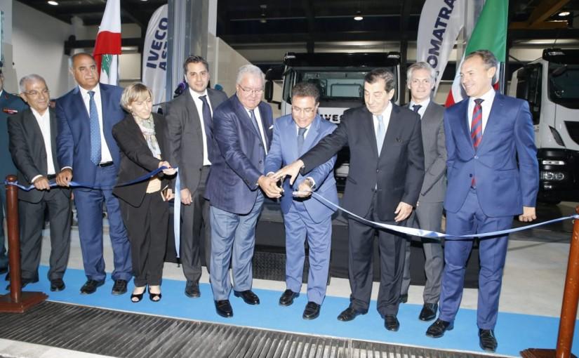 Former Minister Nicolas Tueini Inaugurates a Omtra Company