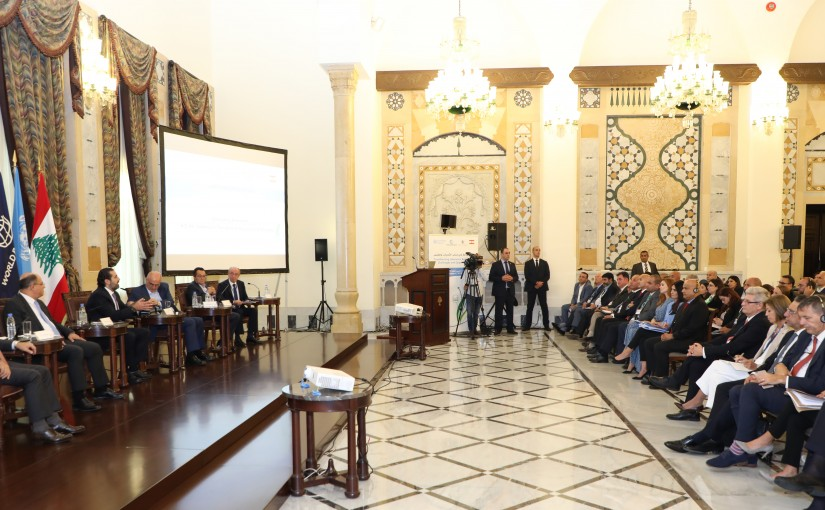 Pr Minister Saad Hariri Attends a Agriculture Conference at the Grand Serail