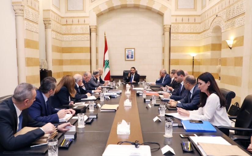 Pr Minister Saad Hariri Heading a Energy Committee