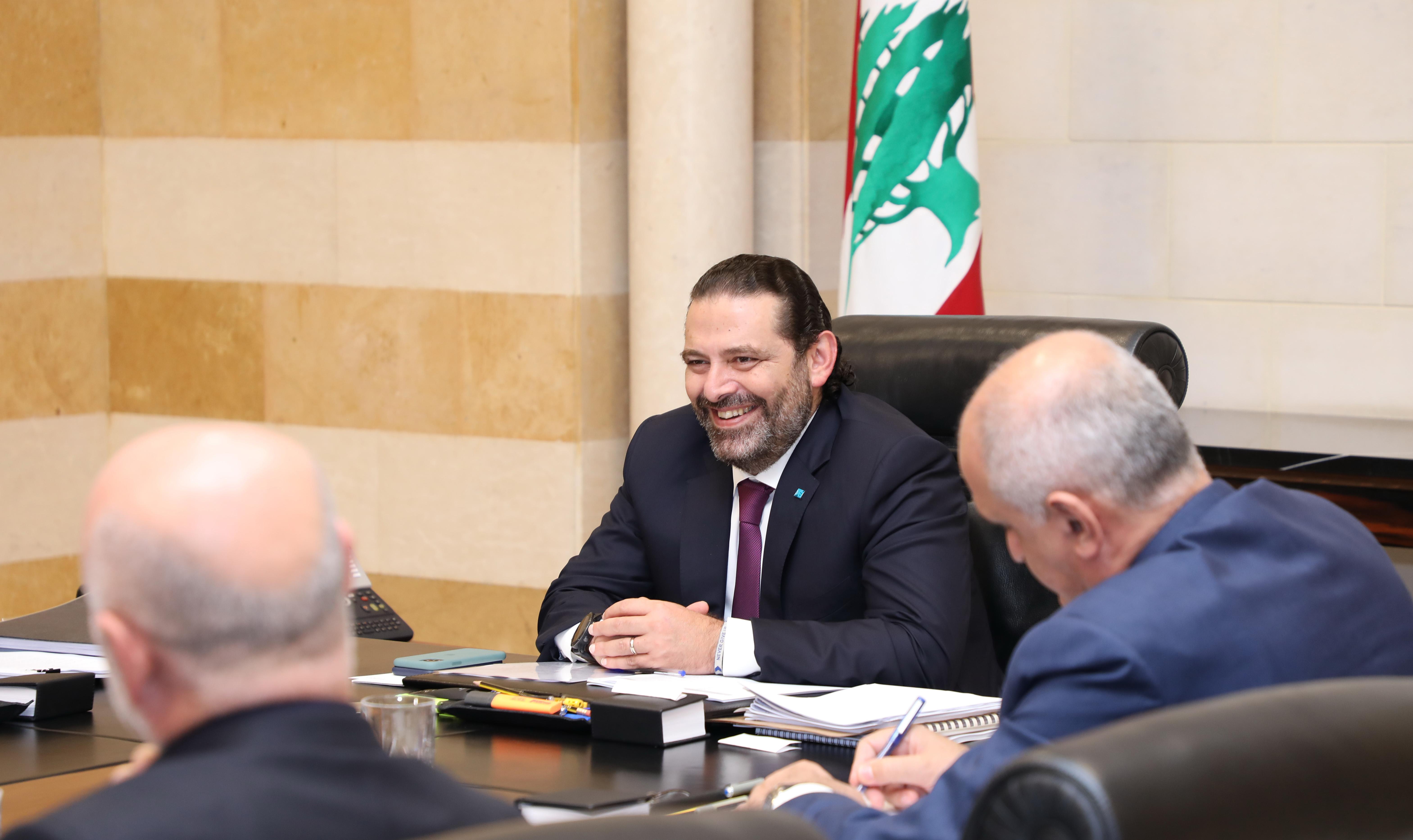 Pr Minister Saad Hariri Heading a Ministerial Council 3