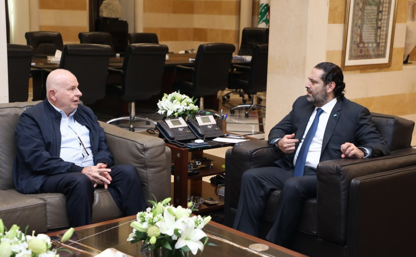 Pr Minister Saad Hariri meets Former Minister Mouhamad Kabara
