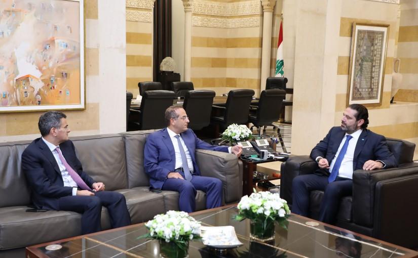 Pr Minister Saad Hariri meets Former MP Raed Khoury