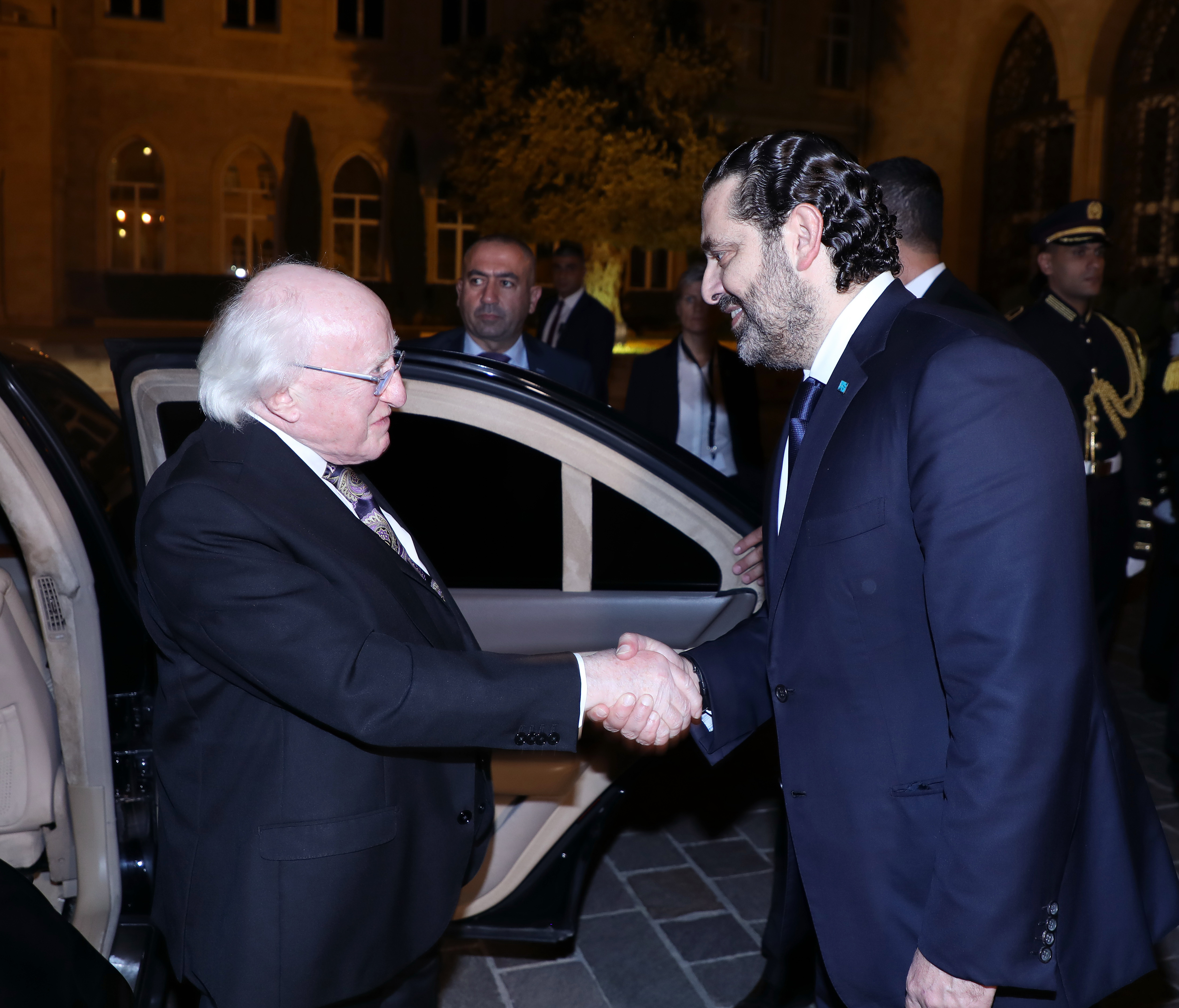 Pr Minister Saad Hariri meets Ireland President 2