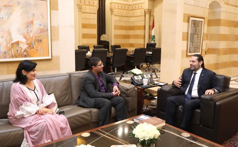Pr Minister Saad Hariri meets Mr Amir EL Fouhari