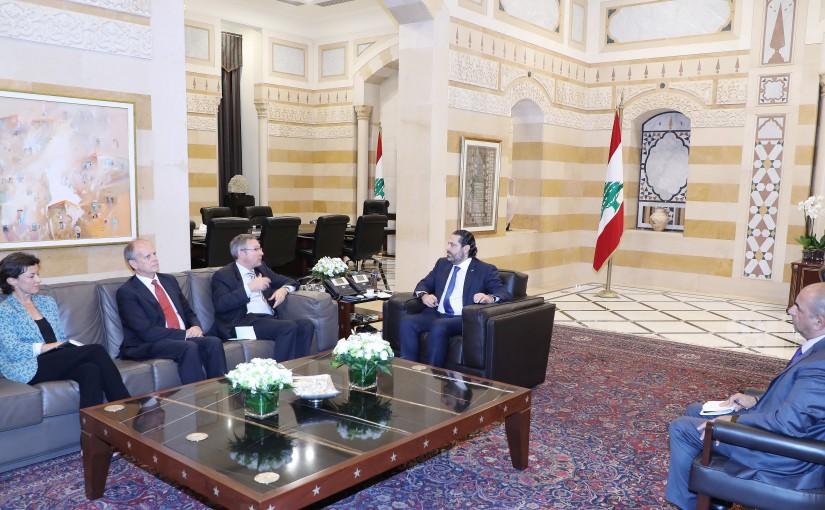 Pr Minister Saad Hariri meets a Delegation from DCAF