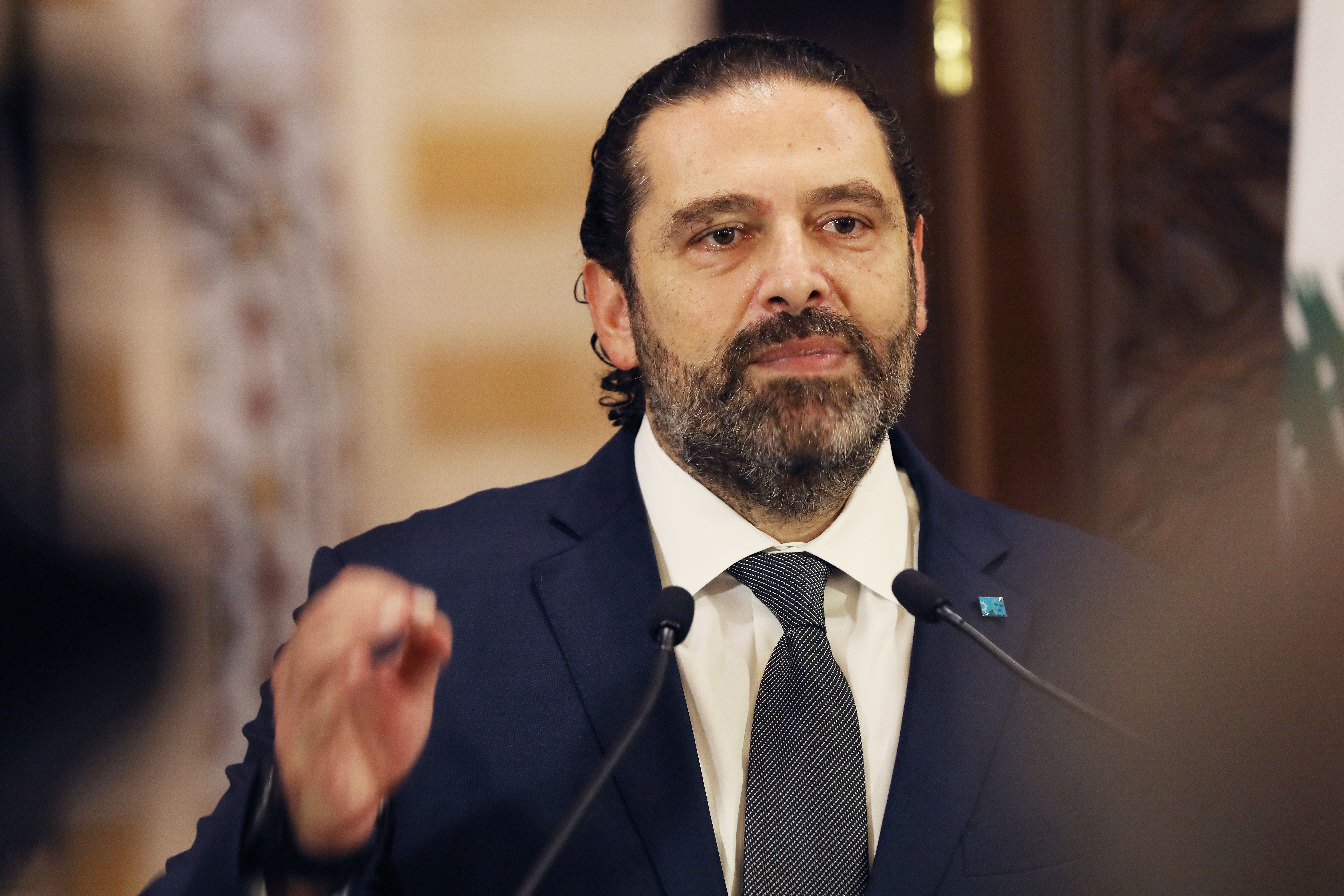 Press Conference for Pr Minister Saad Hariri 5