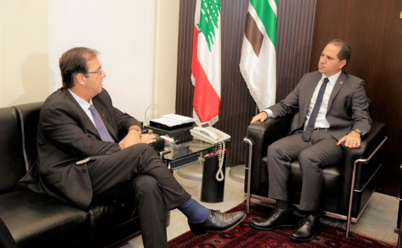 MP Sami Gemayel Meets French Ambassador