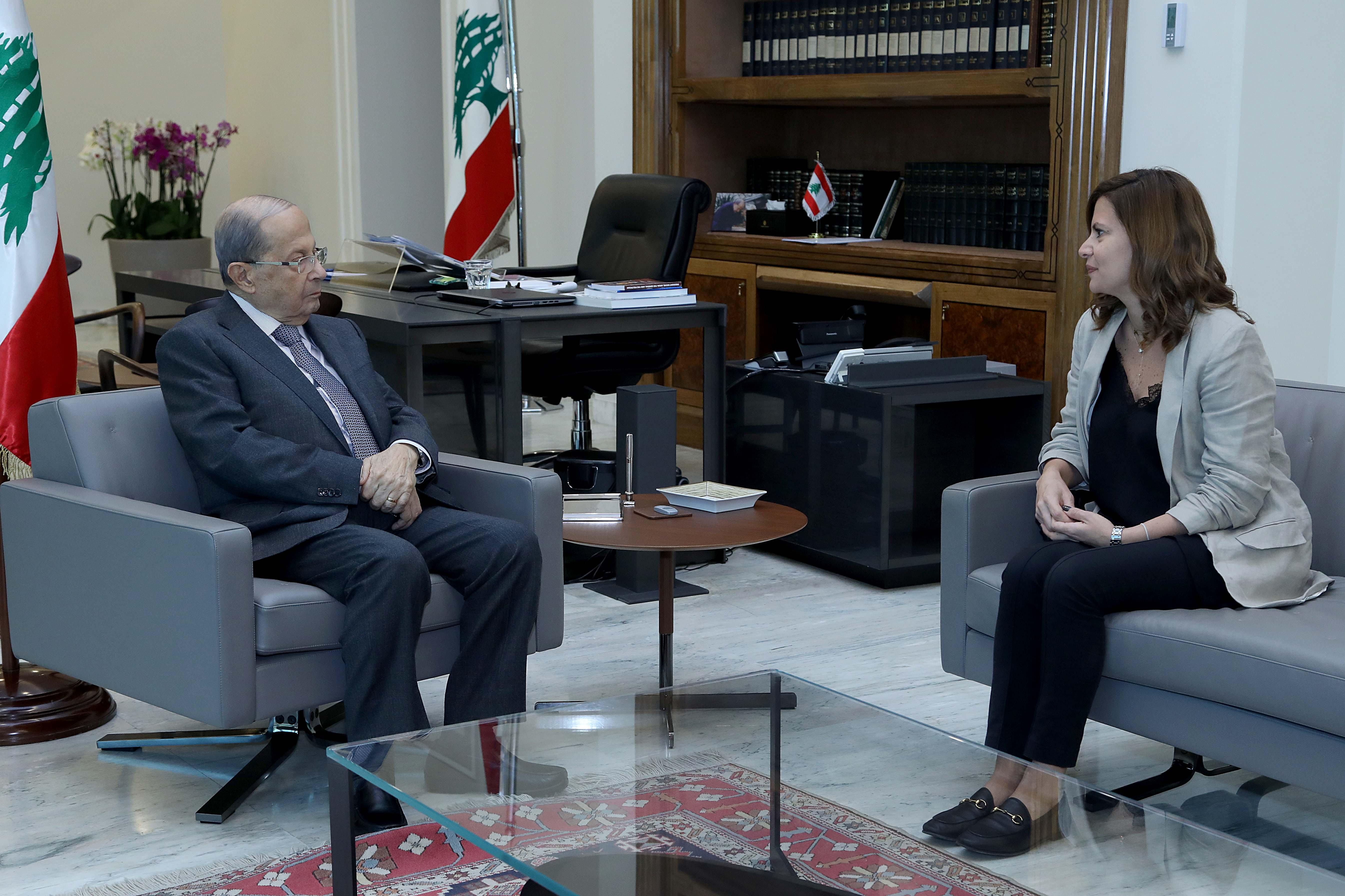 1 - Minister Nada Boustani