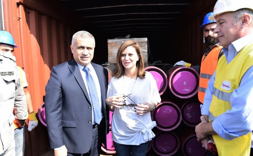 Minister Nada Boustani Visits Beirut Port
