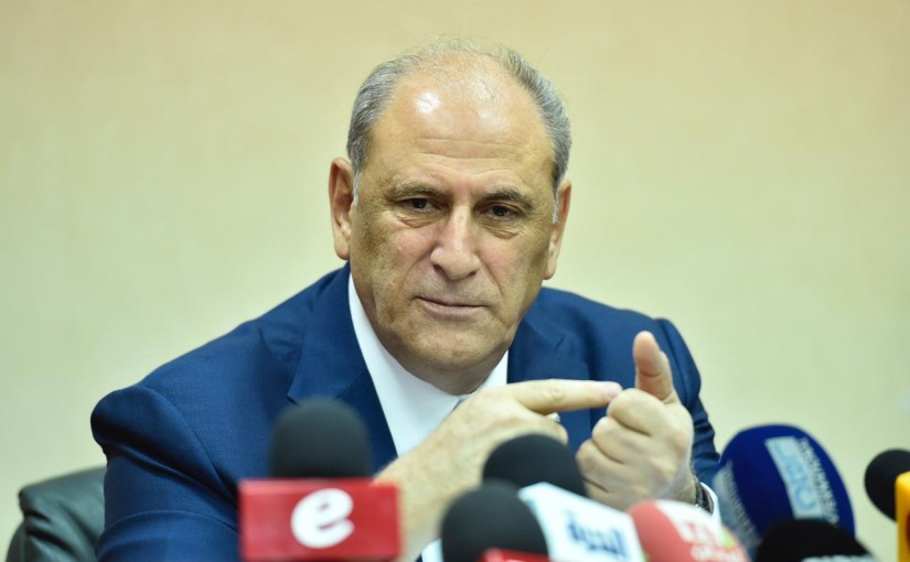 Press Conference for Minister Jamal Jarrah