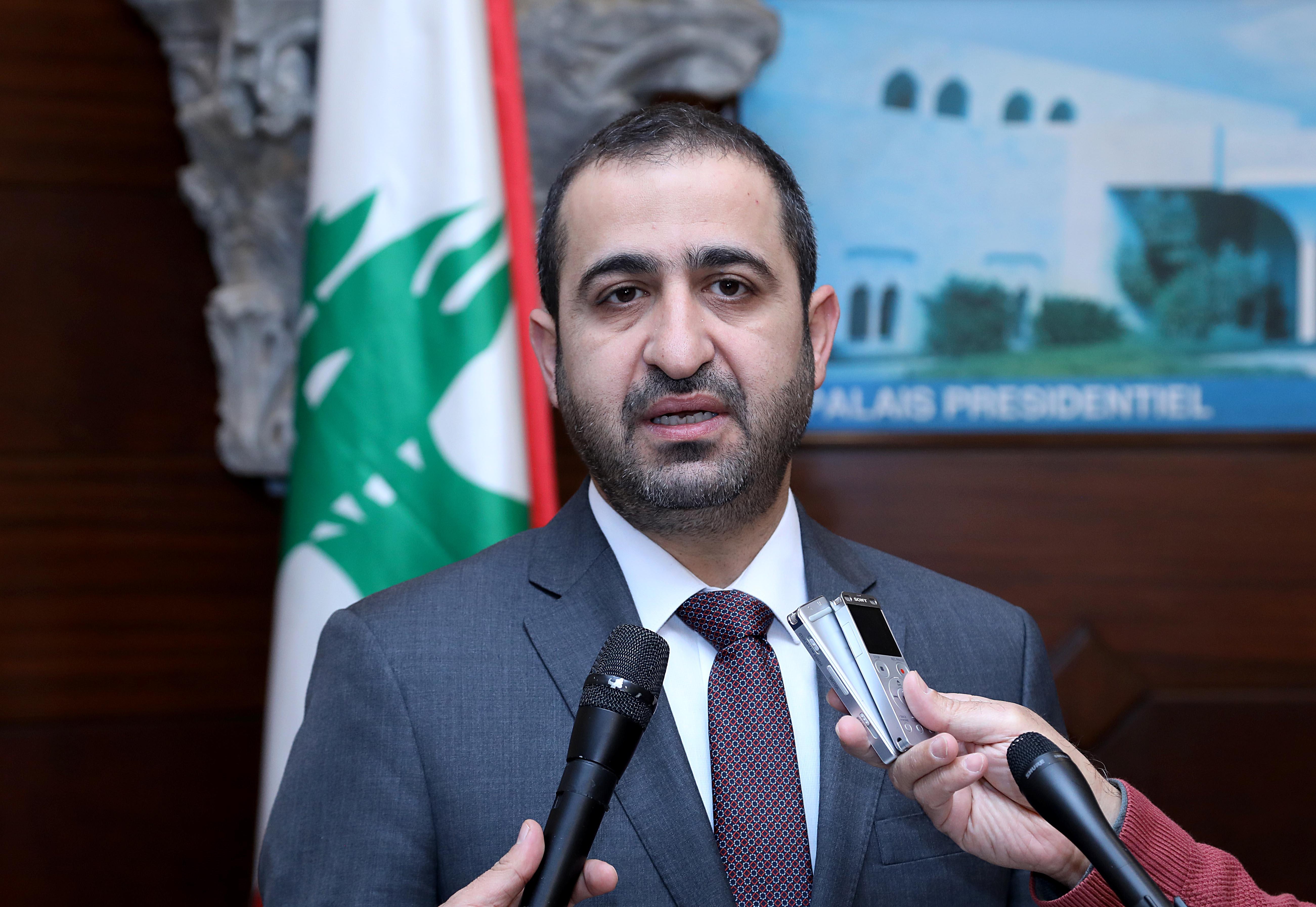 1 - Minister Ghassan Atallah 1