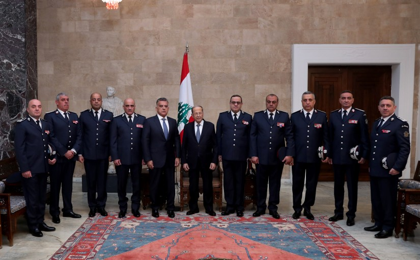President Michel Aoun meets General Directorate of General Security