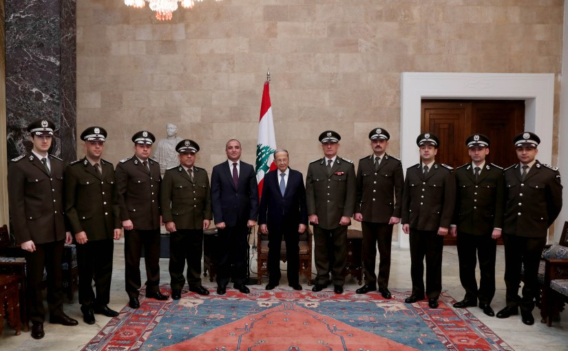 President Michel Aoun meets General Directorate of Customs