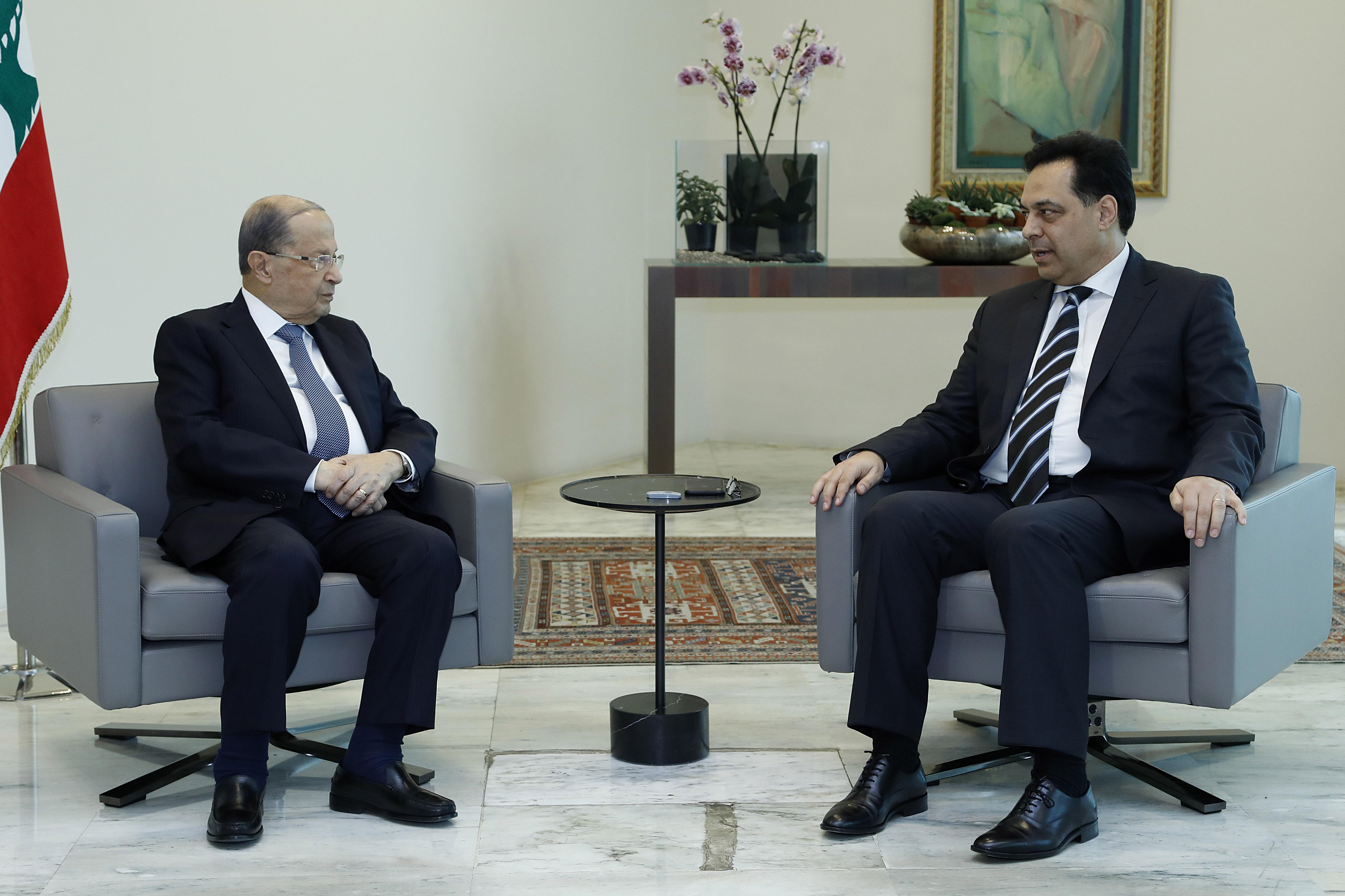 7 -Prime Minister-designate Dr. Hassan Diab