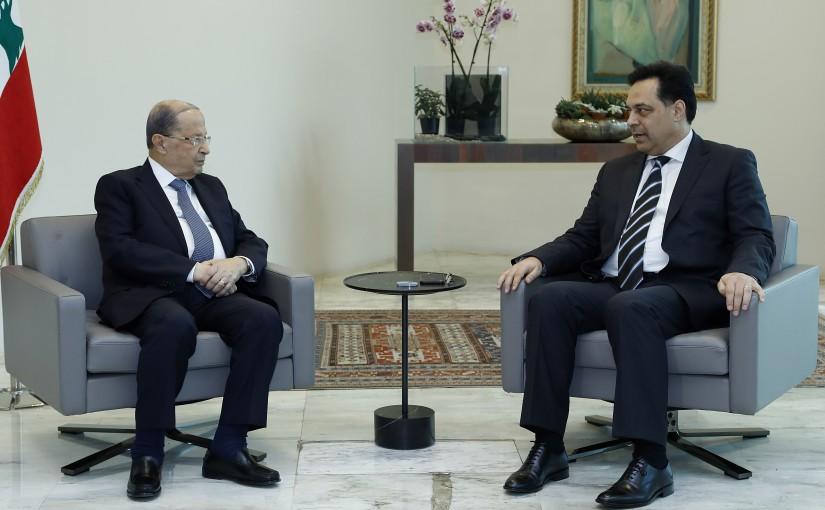 President Michel Aoun meets Prime Minister-designate Dr. Hassan Diab