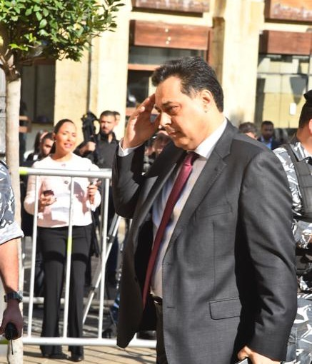 Pr Minister Saad Hariri Arrived at Deputy Council