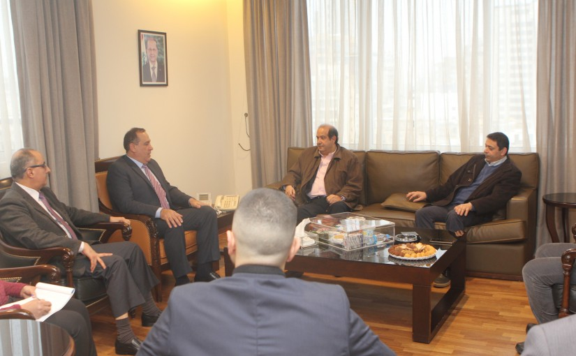 Minister Imad Hebalah meets a Delegation from Digital Companies