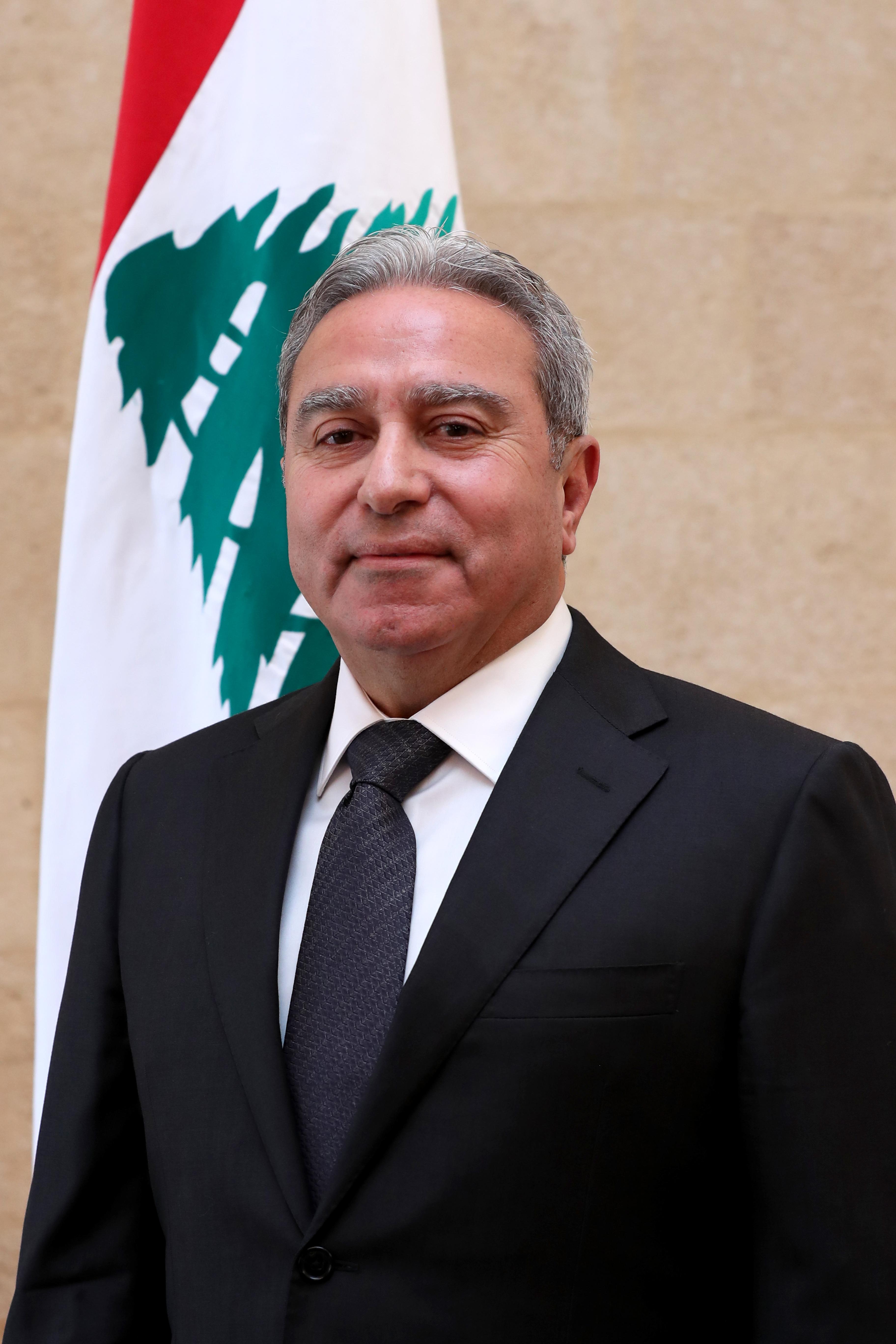 13 - Minister Ramzi Mcharafiyeh