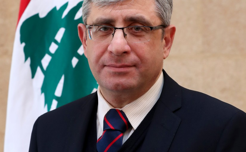 Minister  Tarek Mazjoub.