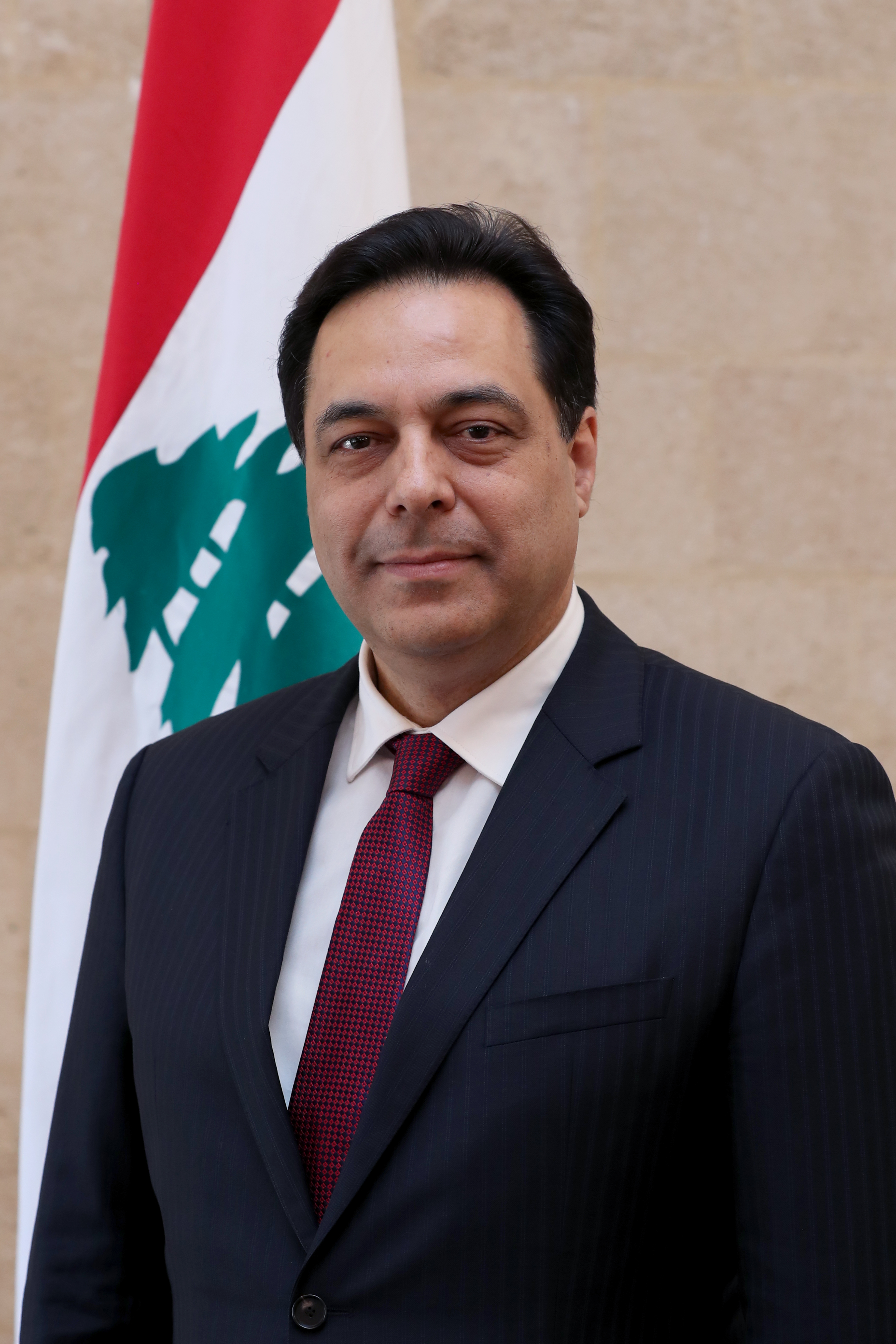 15-Prime Minister  Hassan Diab