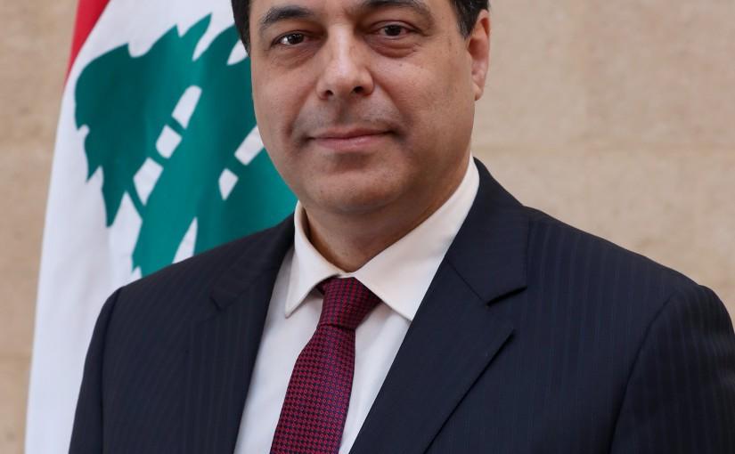 Prime Minister  Hassan Diab.