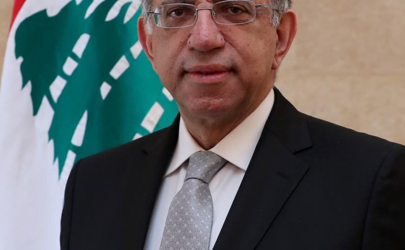 Minister  Demianos Kattar.