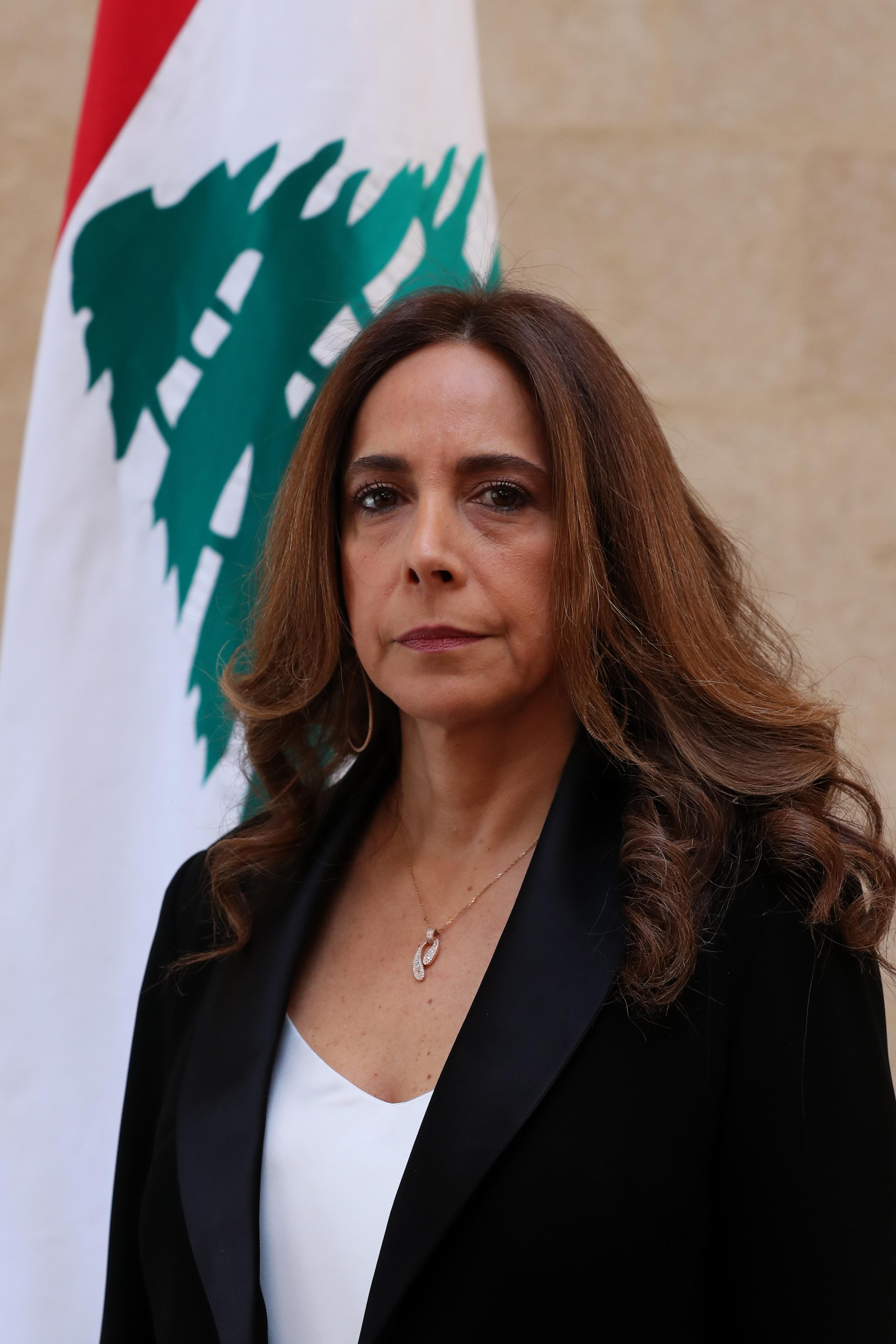 19 - Minister  Zeina Akar