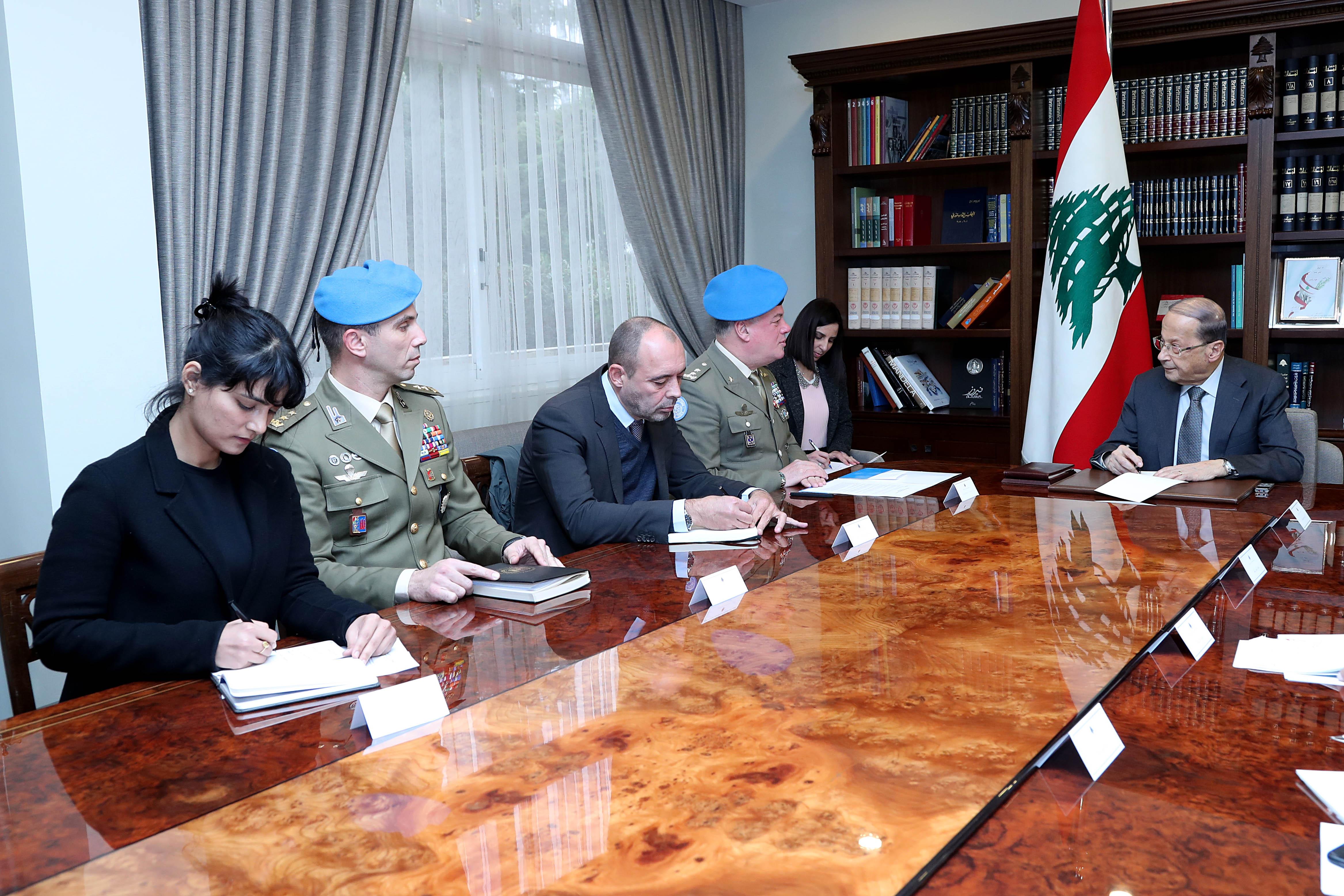 3 - Maj. Gen. Stefano Del Col With a delegation (2)