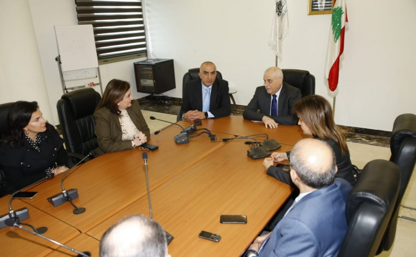 Minister Jamil Jabbak meets a Delegation from Drugs Syndicate