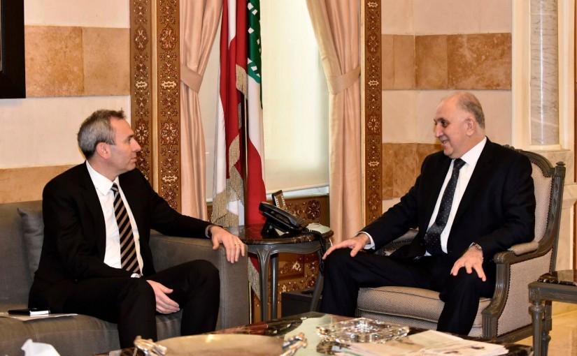 Minister Muhammad Fehmi meets British Ambassador