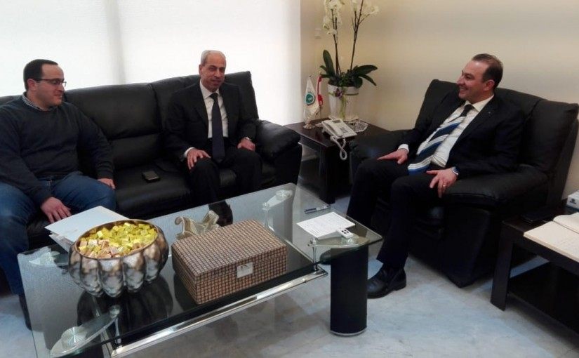 Minister Abass Morthada meets General Mouhamad Kheir