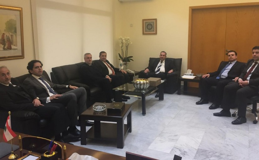 Minister Abass Morthada meets a Delegation from Ministry of Foreign Affairs