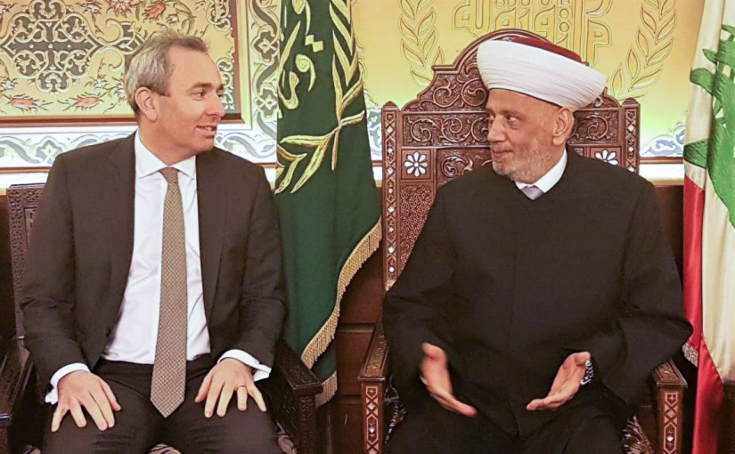 Mufti Derian Abdel Latif meets British Ambassador