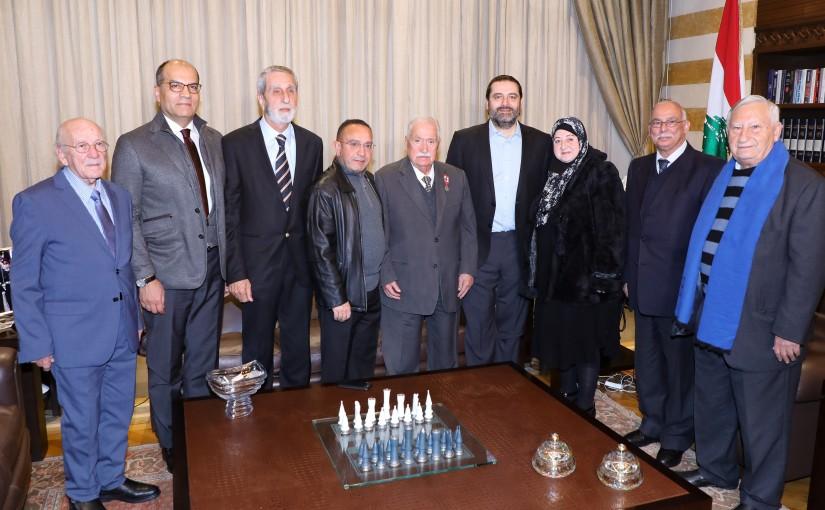 Pr Minister Saad Hariri Honors Mr Samih el Baba