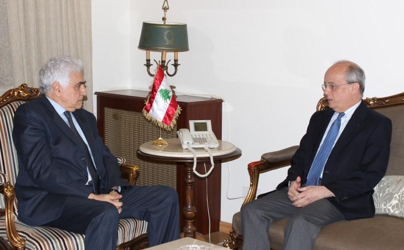 Minister Nassif Hiti meets Spanish Ambassador