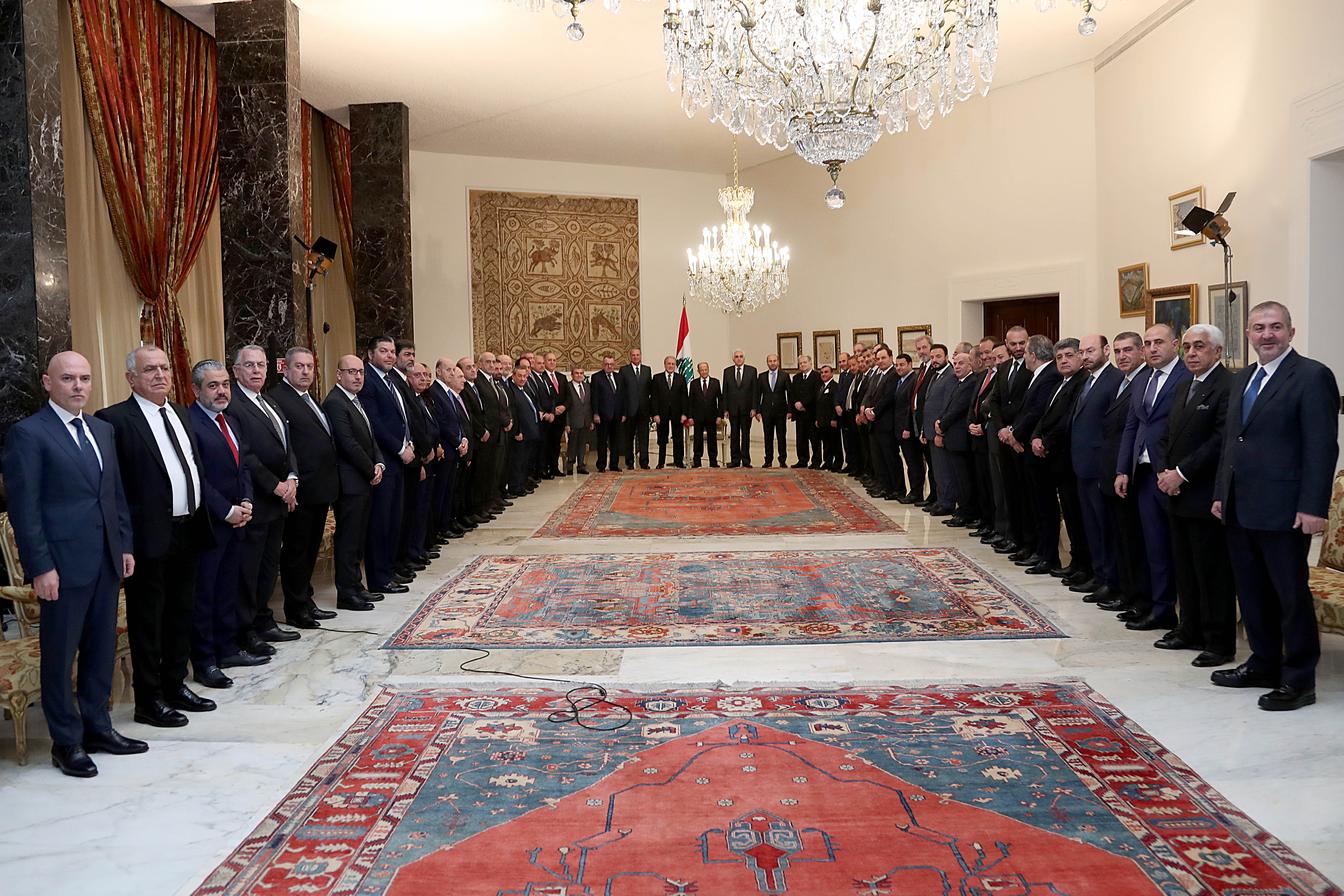2 - members of the diplomatic corps accredited in Lebanon (2)