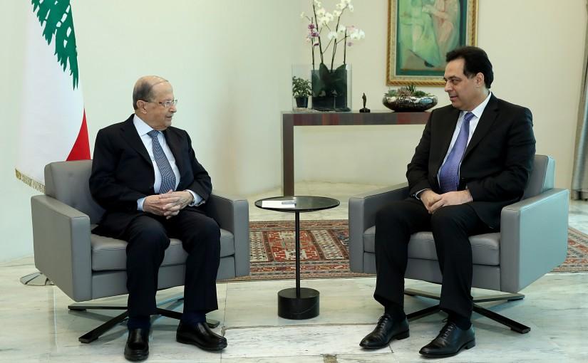 President Michel Aoun meets Prime Minister Dr. Hassan Diab
