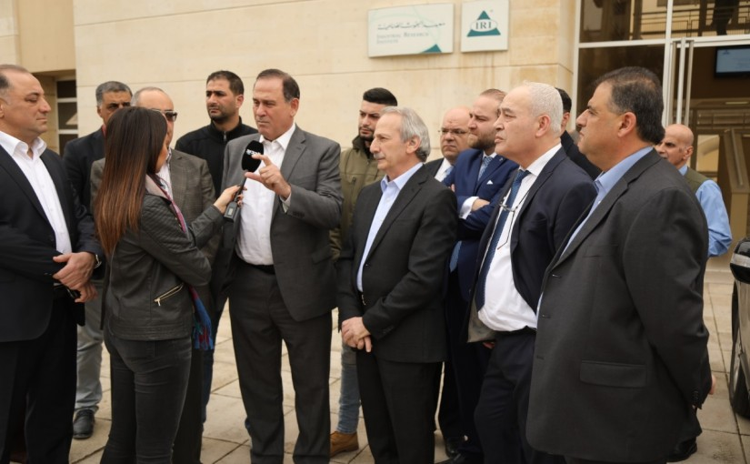 Minister Imad Habalah Visits the Research Centre