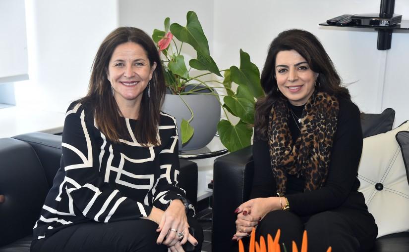 Minister Ghada Gherim meets Denmark Ambassador