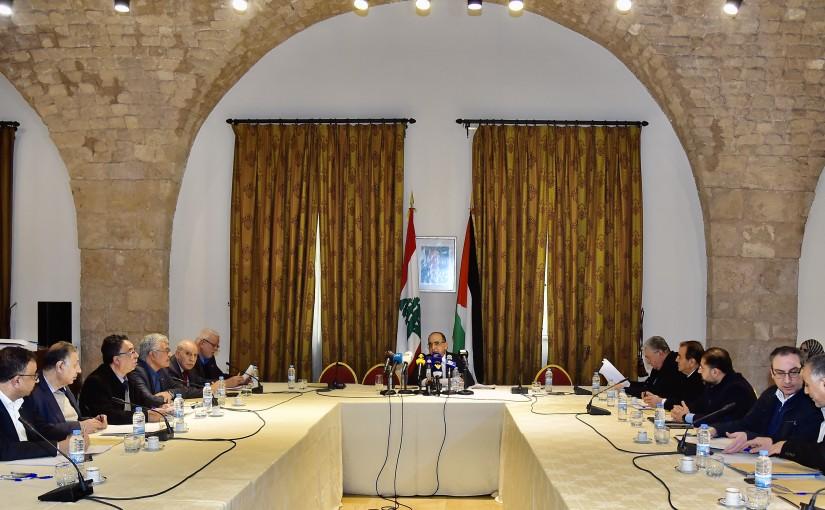 Meetin for Lebanese Palestinian Communities